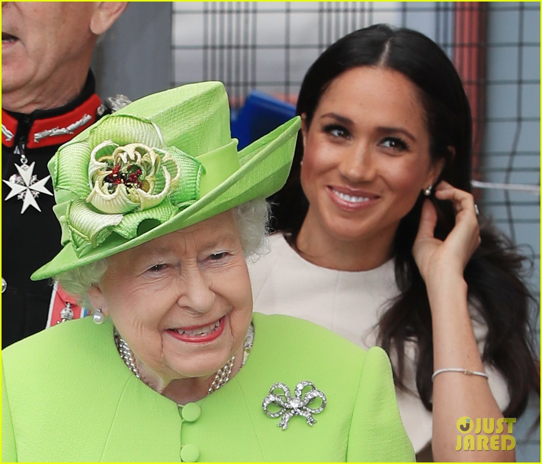 Duchess Meghan Markle Makes First Official Visit With