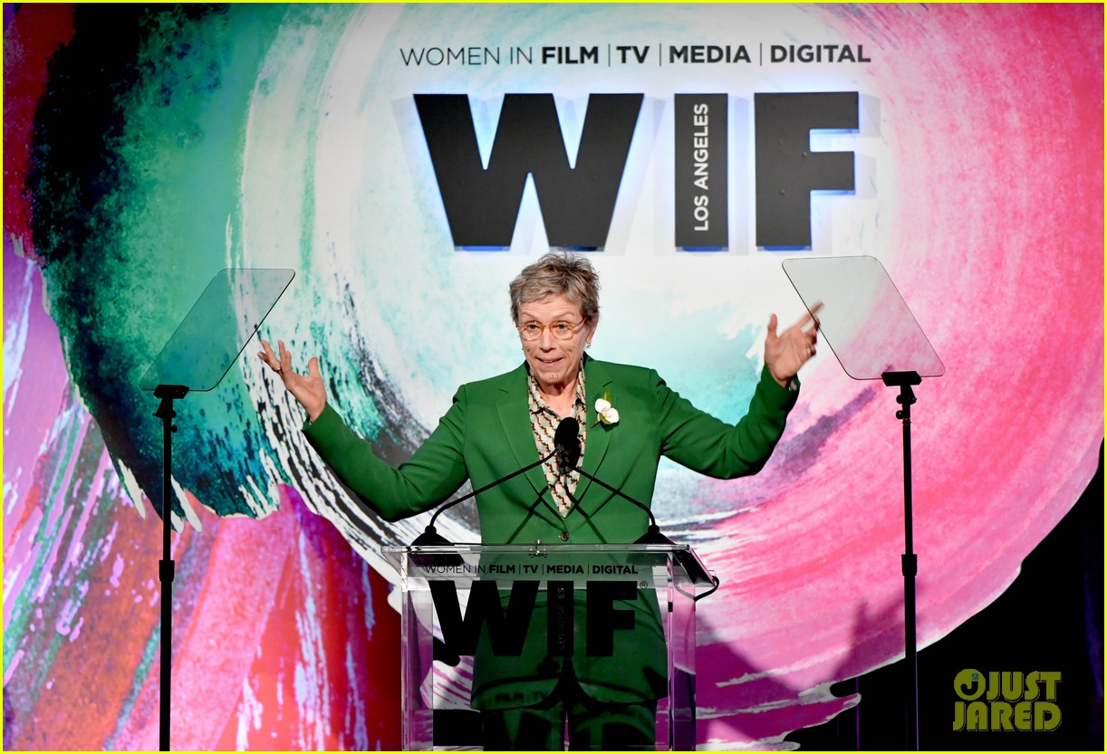 frances mcdormand doubles down on inclusion riders at women in film crystal lucy awards 024101429