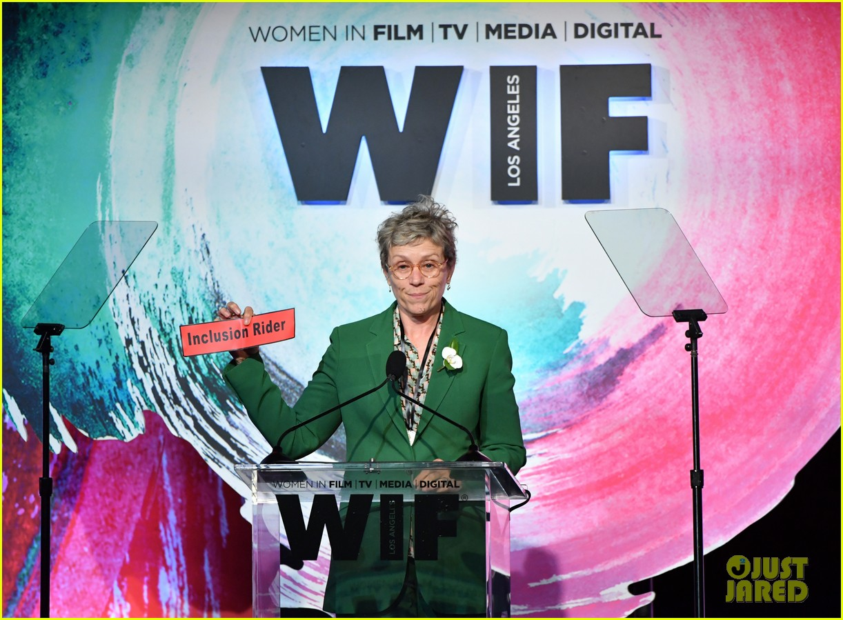 frances mcdormand doubles down on inclusion riders at women in film crystal lucy awards 034101430
