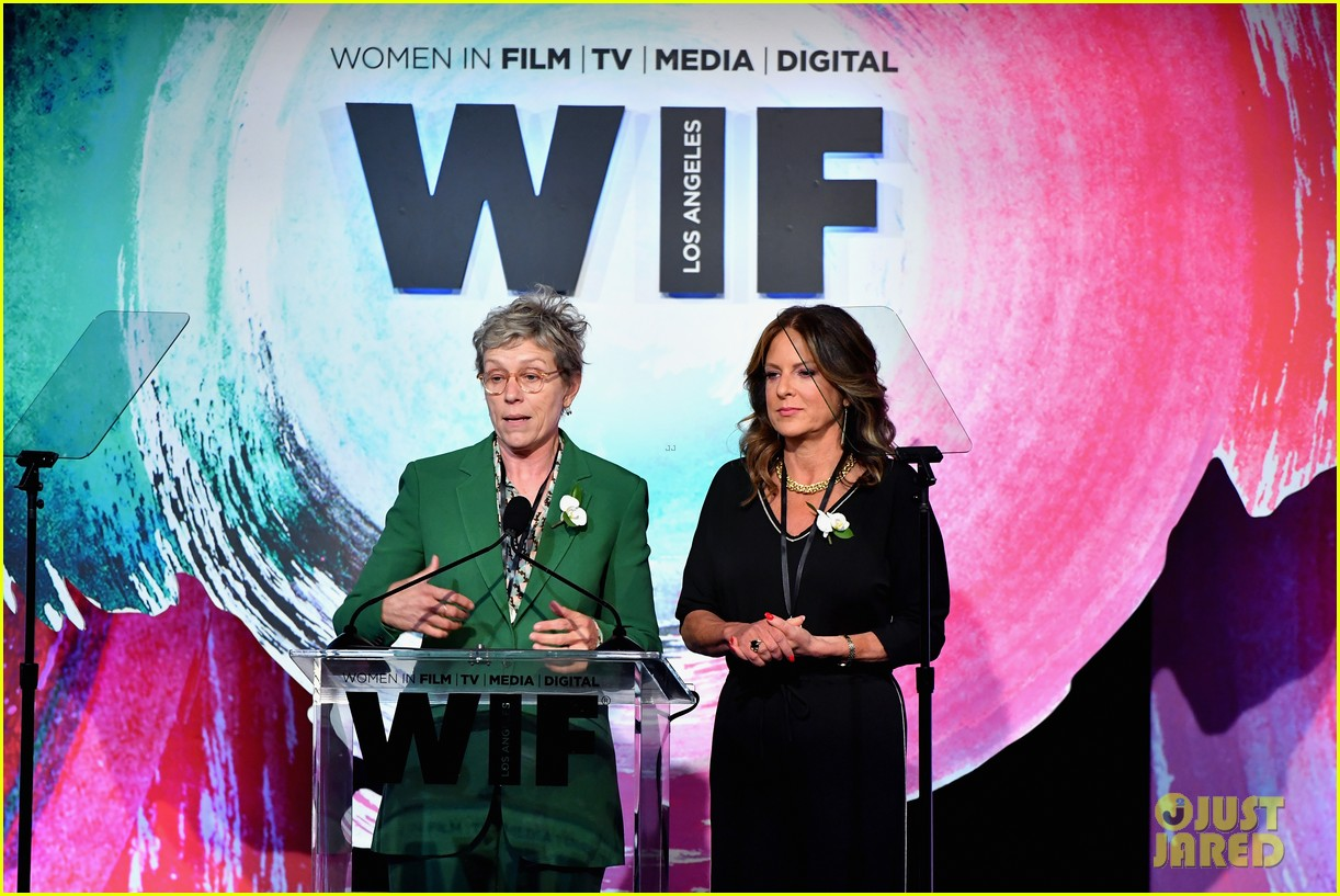 frances mcdormand doubles down on inclusion riders at women in film crystal lucy awards 074101434