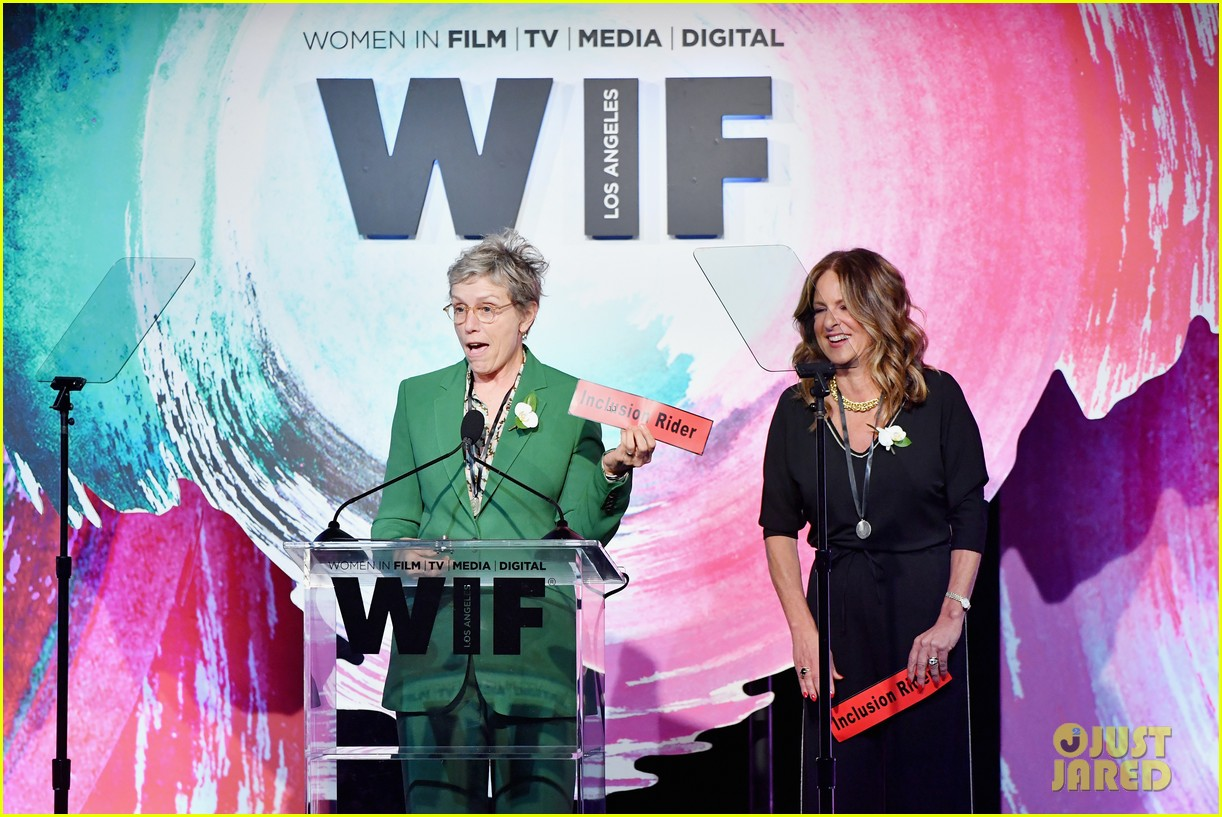 frances mcdormand doubles down on inclusion riders at women in film crystal lucy awards 124101439