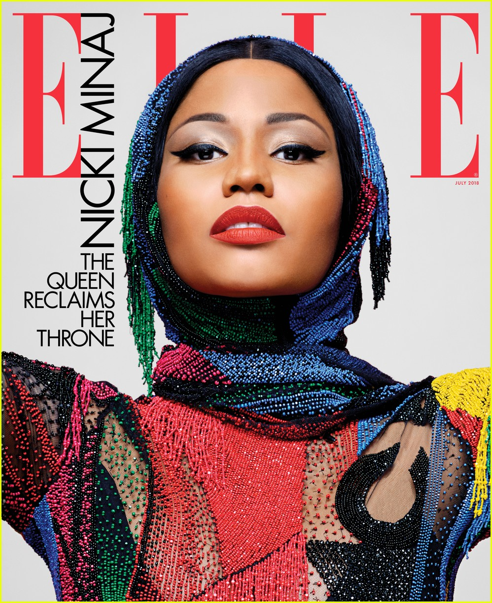 nicki minaj elle cover 014100657