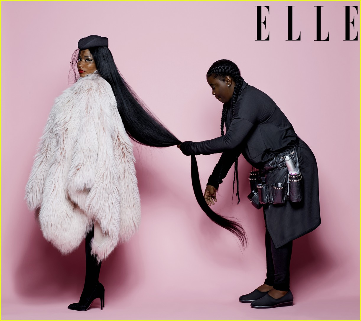 nicki minaj elle cover 034100659