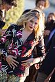 chloe moretz sports fun prints at come as you are champs elysees film festival premiere 05