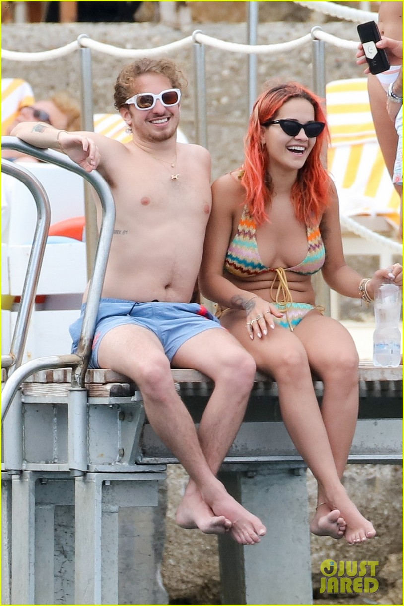 Rita ora topless with boyfriend andrew watt on the yacht naked (21 photos), Is a cute Celebrity images