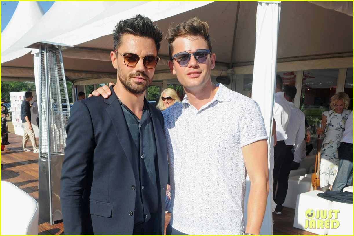dominic cooper jeremy irvine tom holland audi polo challenge 424109626