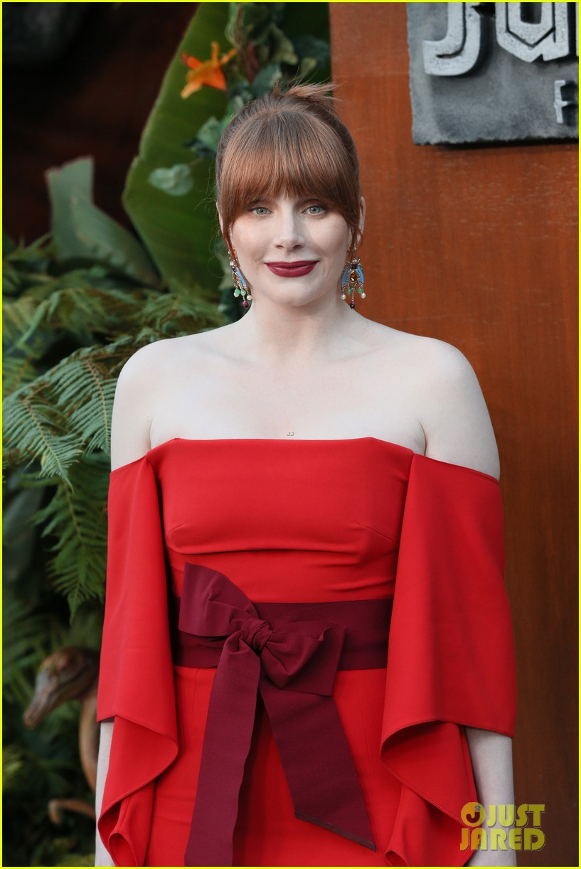 chris pratt bryce dallas howard jurassic world fallen kingdom premiere 224100543