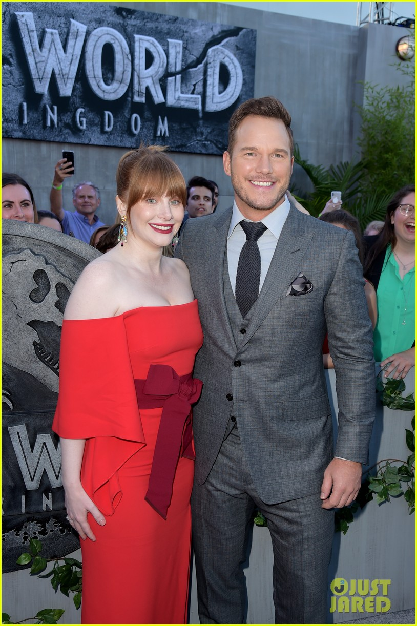 chris pratt bryce dallas howard jurassic world fallen kingdom premiere 264100547