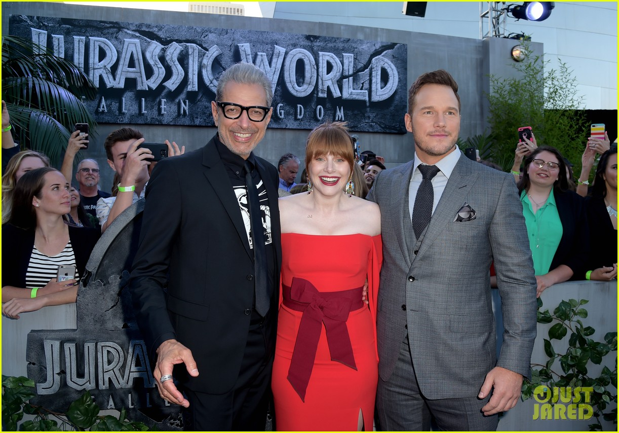 chris pratt bryce dallas howard jurassic world fallen kingdom premiere 274100548