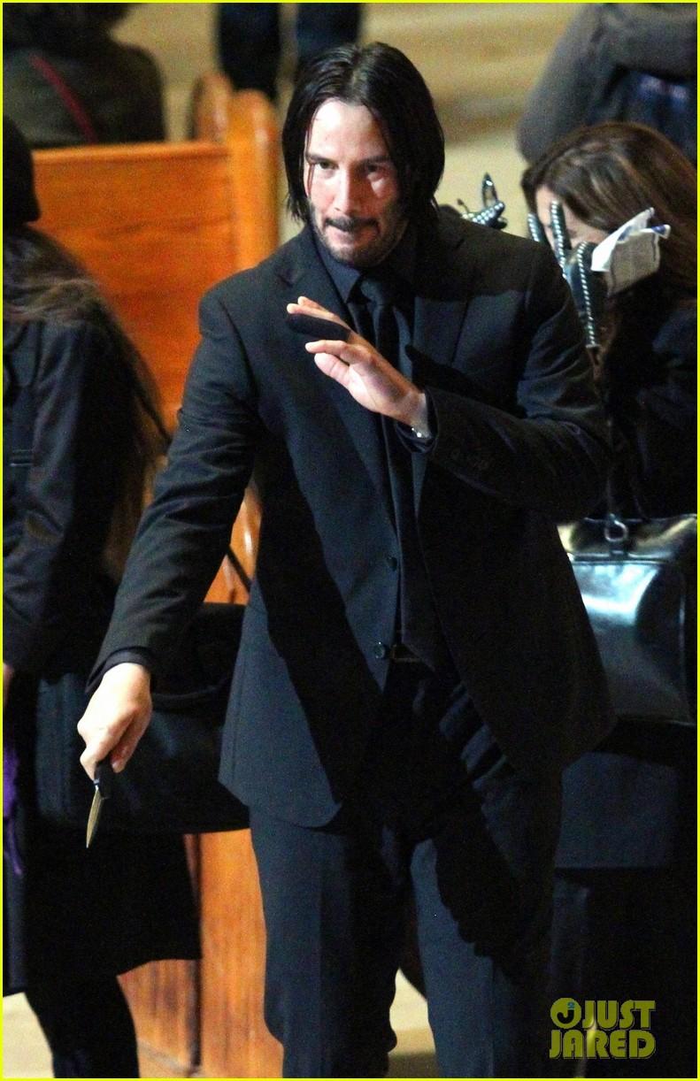 Keanu Reeves Amp Mark Dacascos Film John Wick 3 Action