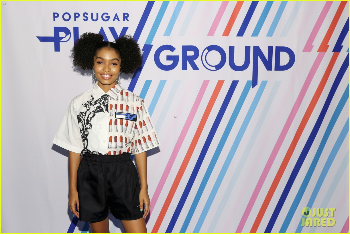 yara shahidi and katie stevens have a ball at popsugar event in nyc 364098409