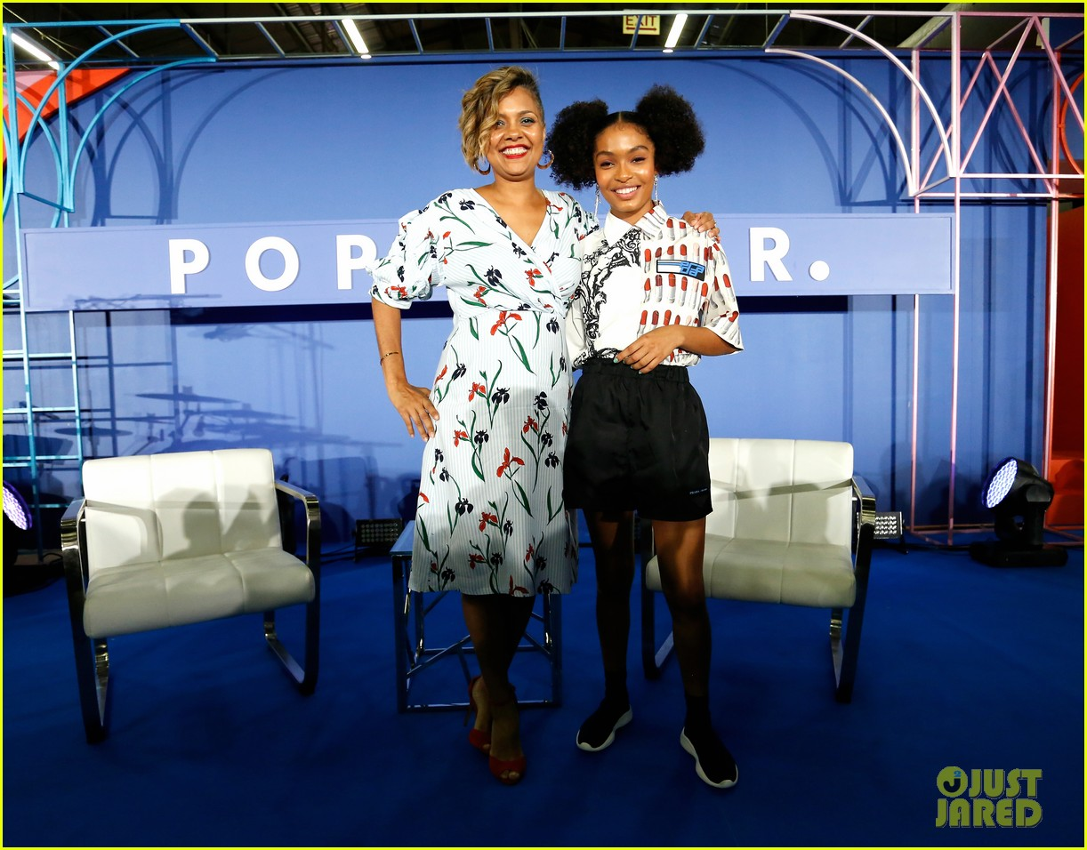 yara shahidi and katie stevens have a ball at popsugar event in nyc 464098419