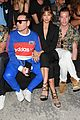 irina shayk suits up for dsquared2 mens milan fashion show 05