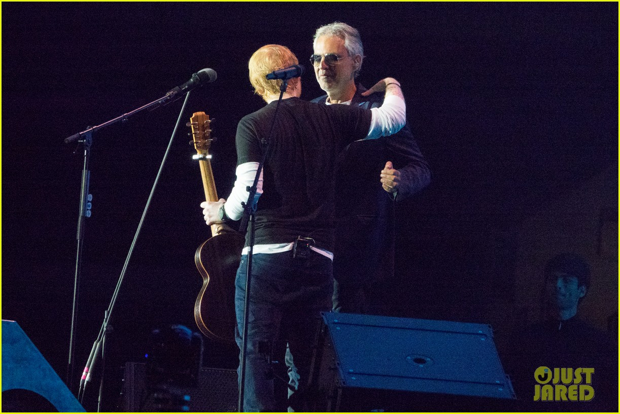 Ed Sheeran & Andrea Bocelli Perform 'Perfect' Live for the