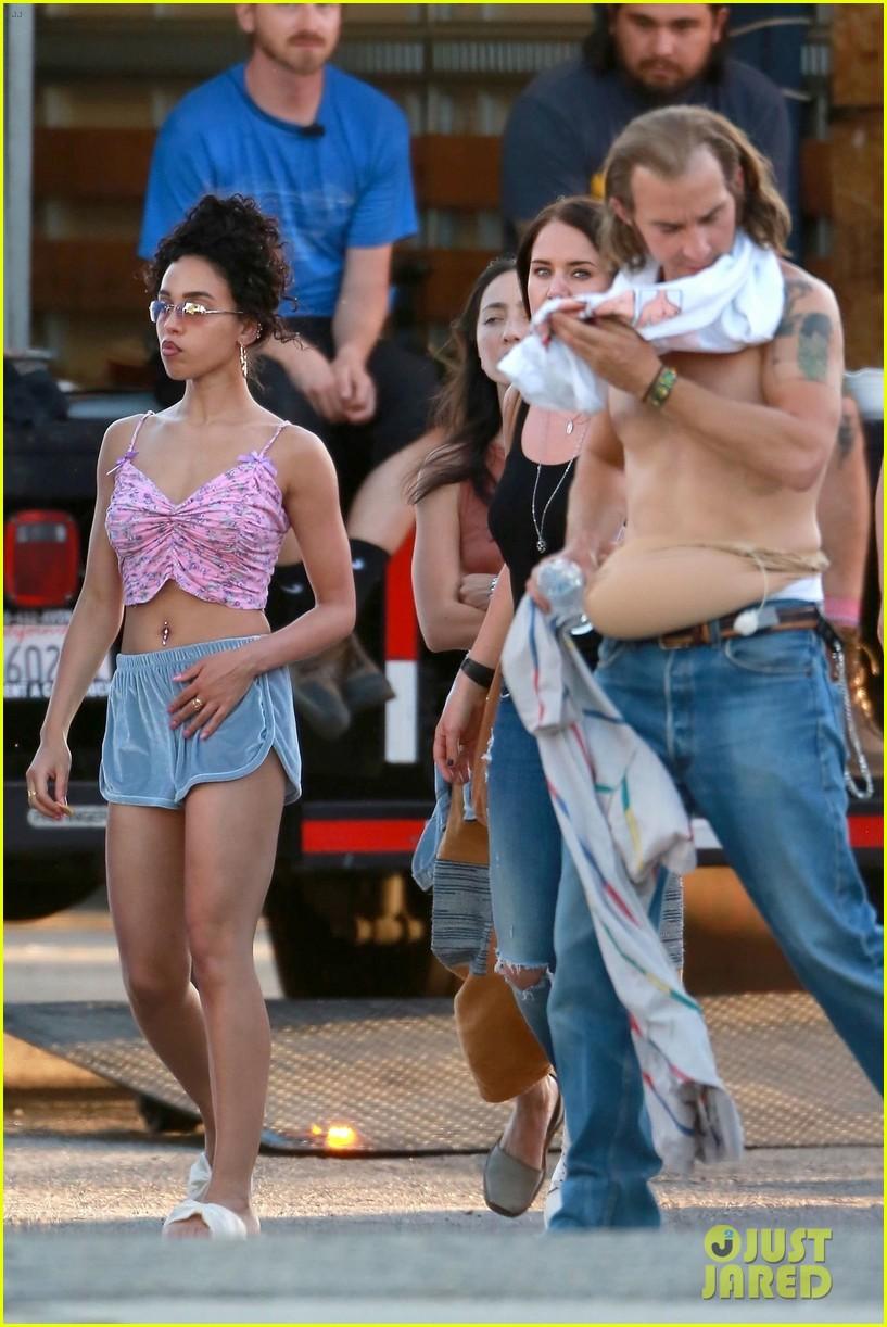 shia labeouf wears costume piece on stomach honey boy 044101388
