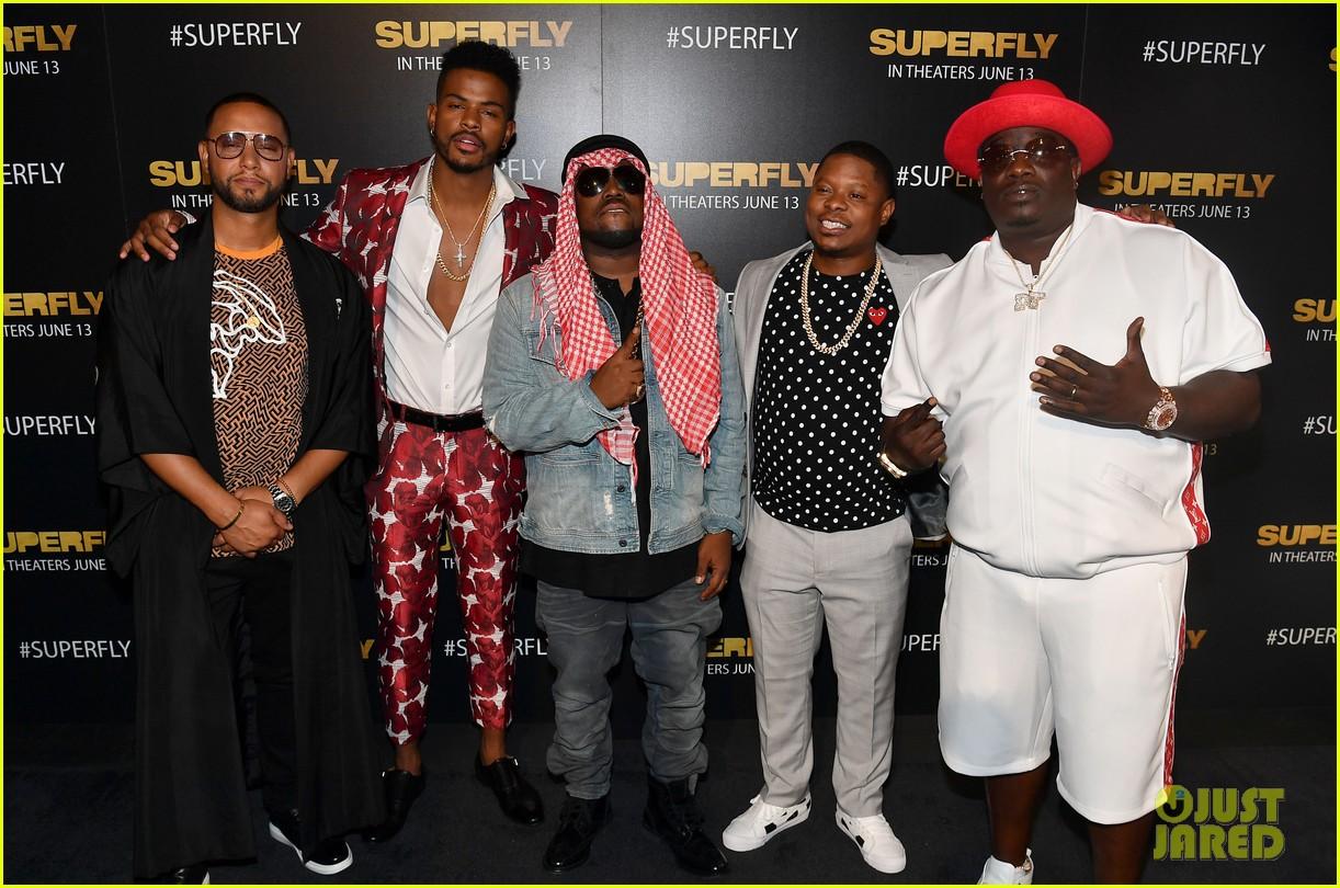 25b2d7cb9 Trevor Jackson    Superfly  Cast Host Screening in Atlanta  Photo ...
