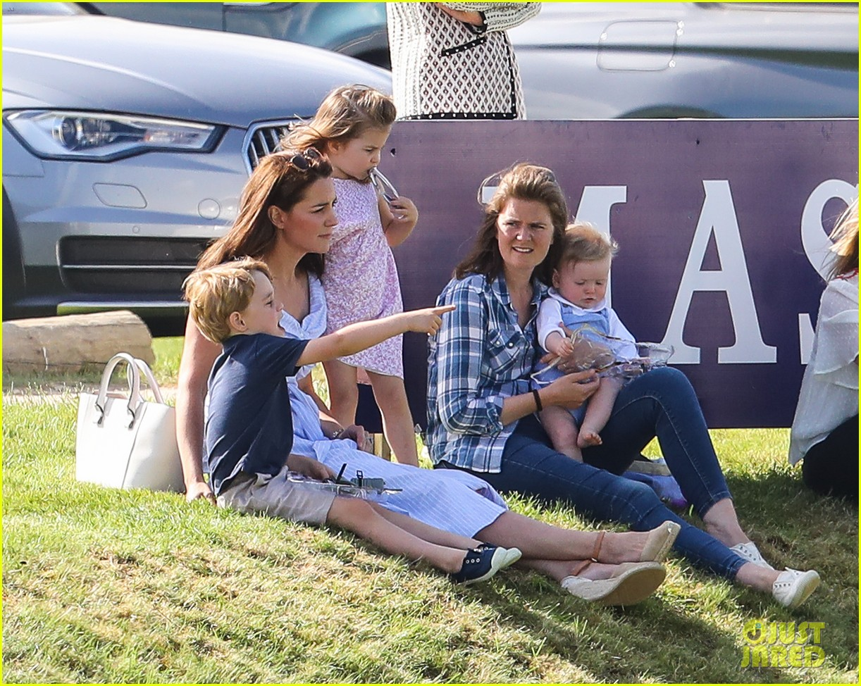 prince william plays polo family watches 024098632