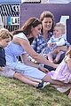 prince william plays polo family watches 11