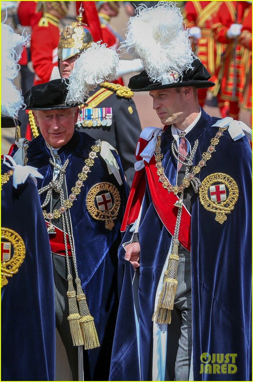 prince william joins prince charles at order of the garter parade 024103505