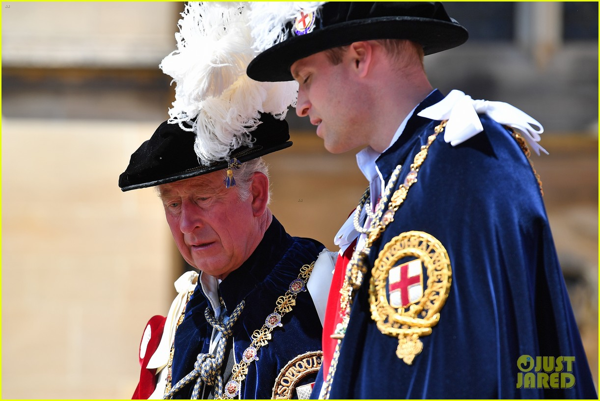 prince william joins prince charles at order of the garter parade 104103513