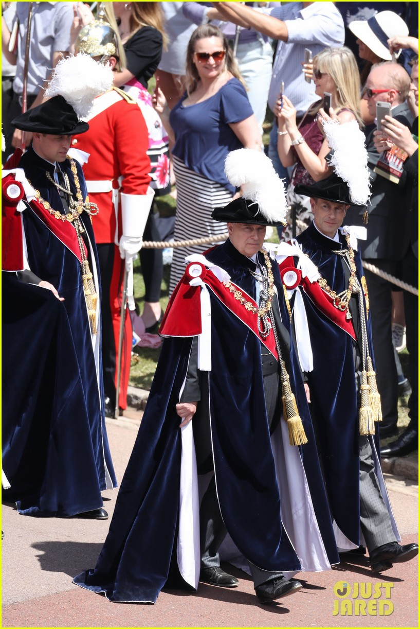 prince william joins prince charles at order of the garter parade 154103518