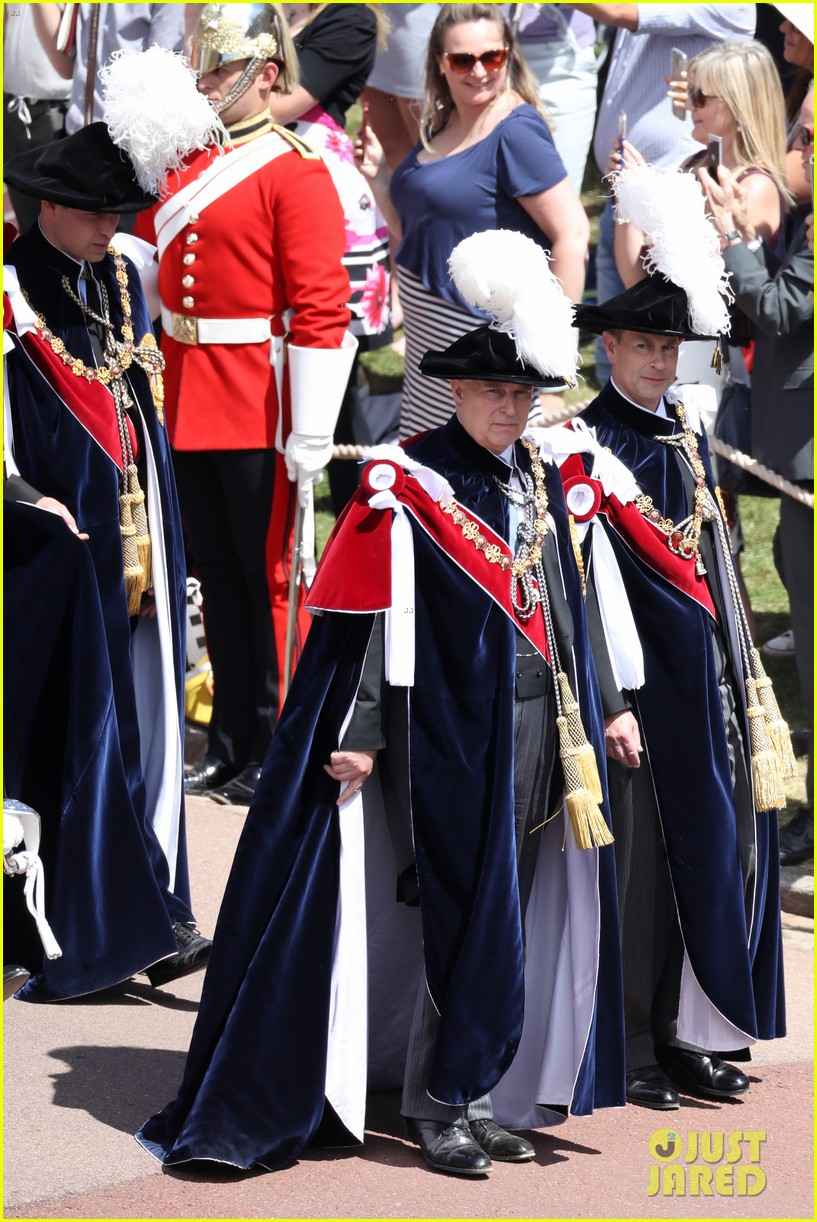 prince william joins prince charles at order of the garter parade 164103519