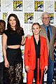 kristen bell ted danson promote the good place at comic con 02