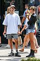 justin bieber hailey baldwin brunch nyc 01