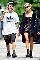 justin bieber and hailey baldwin cant stop smiling during nyc stroll 09