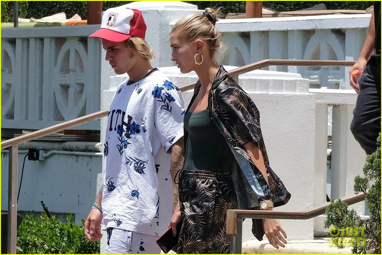 justin bieber shows off tattooed torso on vacation with hailey baldwin 274114511
