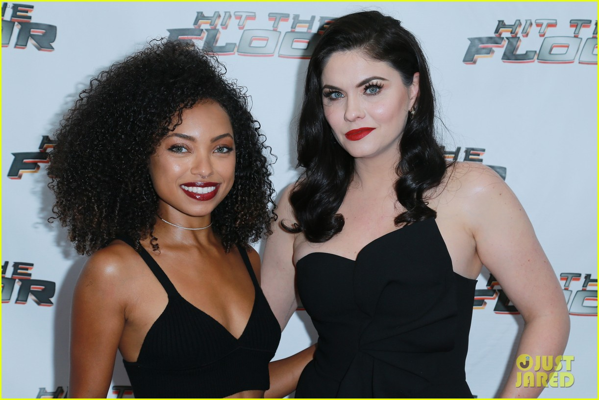Logan Browning Supports 'Hit The Floor