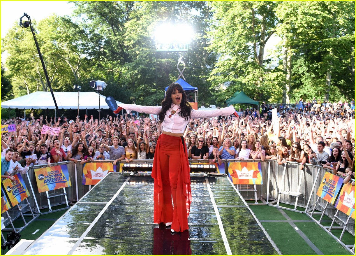camila cabello performs her hits on good morning america 014117320