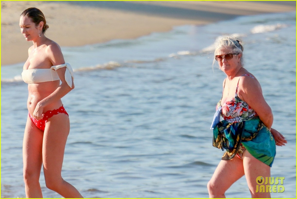 candice swanepoel 12 days postpartum bikini beach 134112961