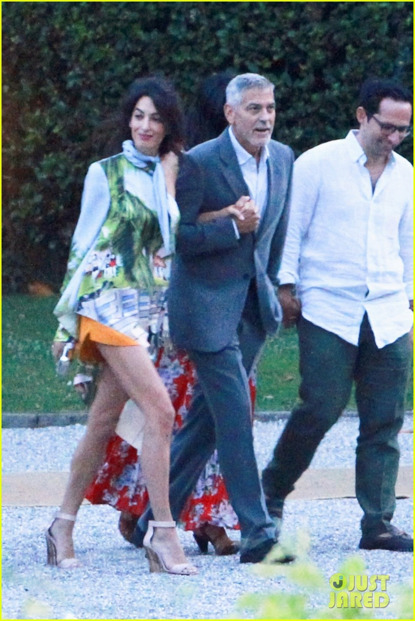 george amal clooney step out for dinner in lake como 014122145