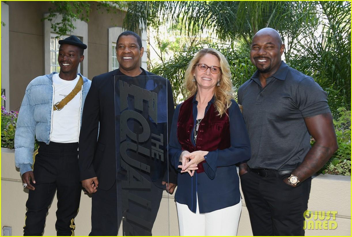 Denzel Washington Promotes 'The Equalizer 2' in LA!: Photo 4114318