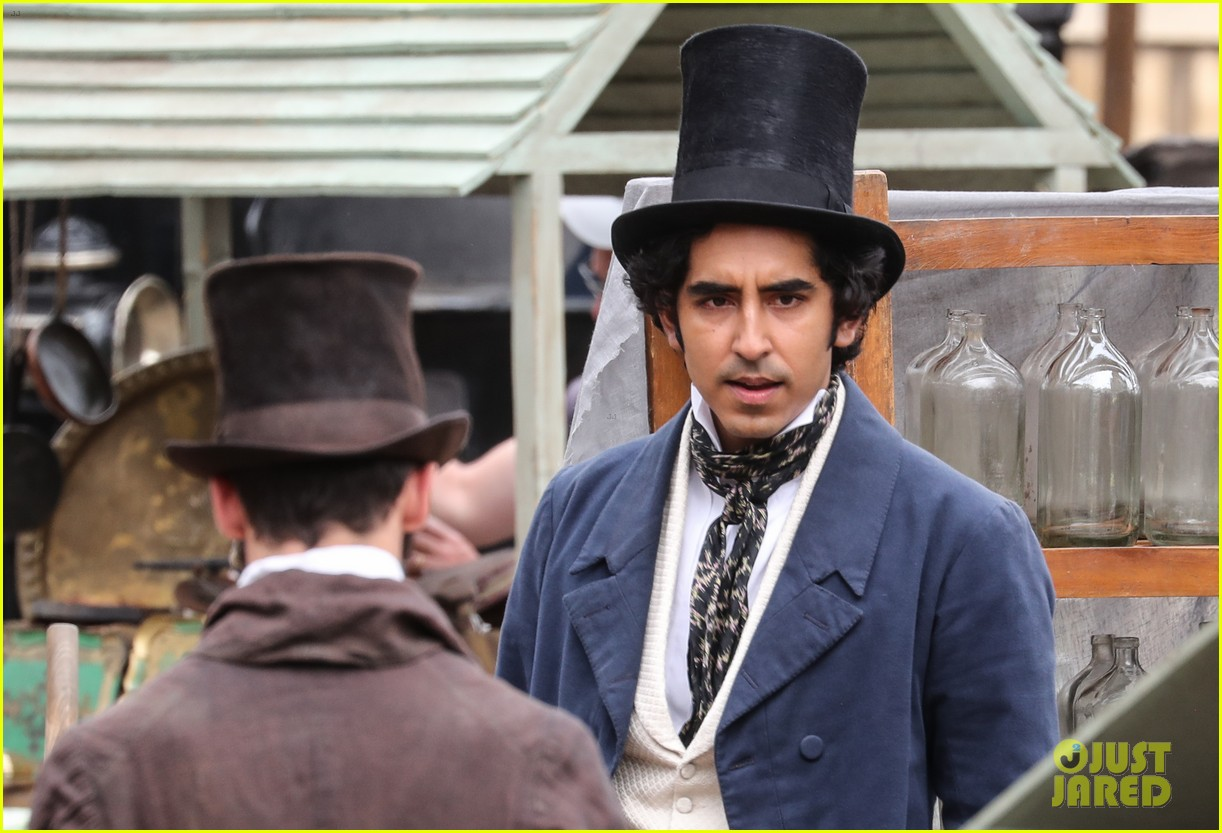 dev patel david copperfield filming set 02