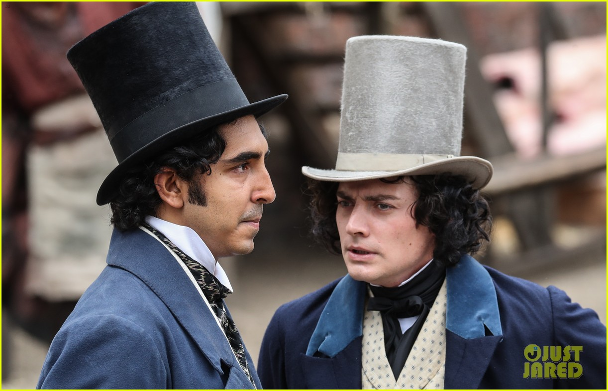 dev patel david copperfield filming set 04