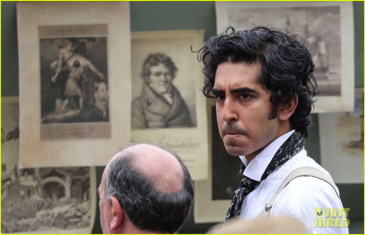 dev patel david copperfield filming set 05