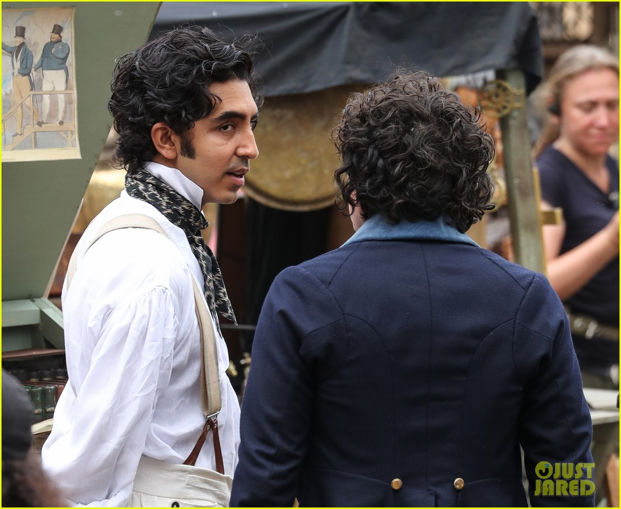 dev patel david copperfield filming set 06