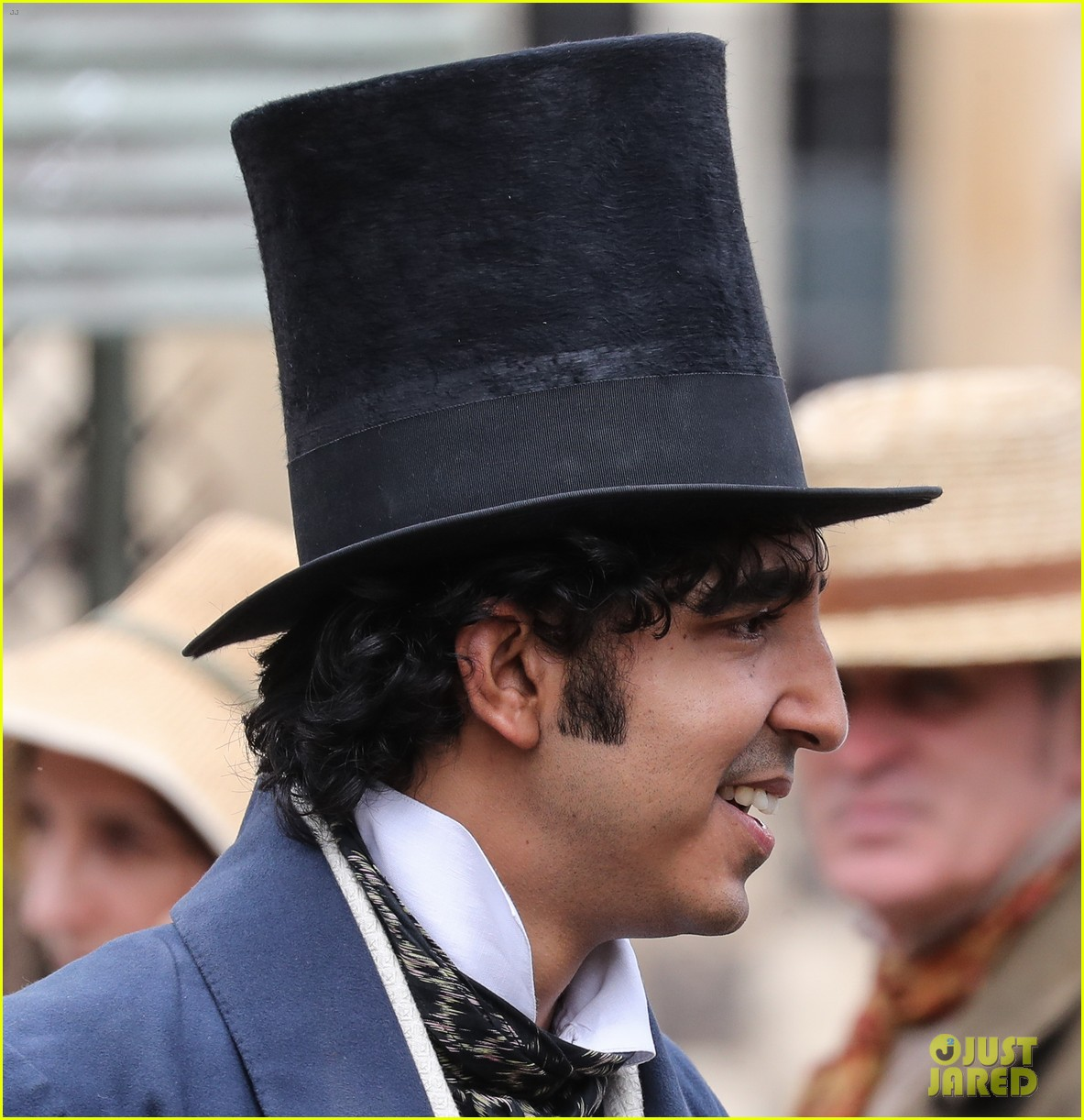 dev patel david copperfield filming set 07