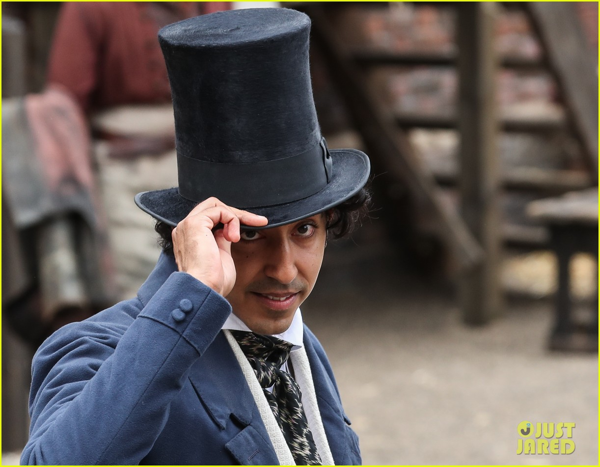 dev patel david copperfield filming set 08