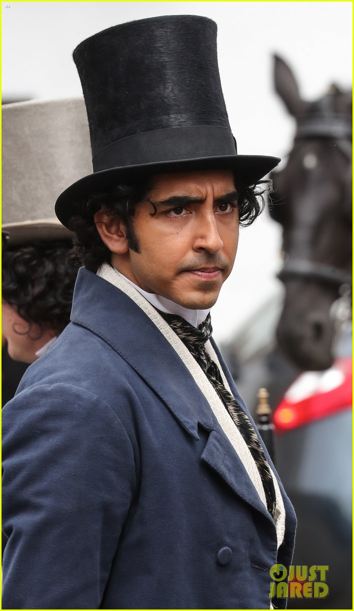 dev patel david copperfield filming set 09