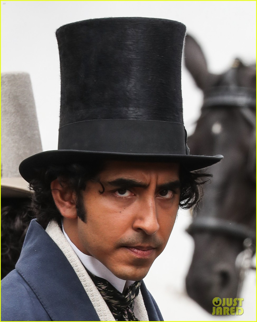 dev patel david copperfield filming set 10