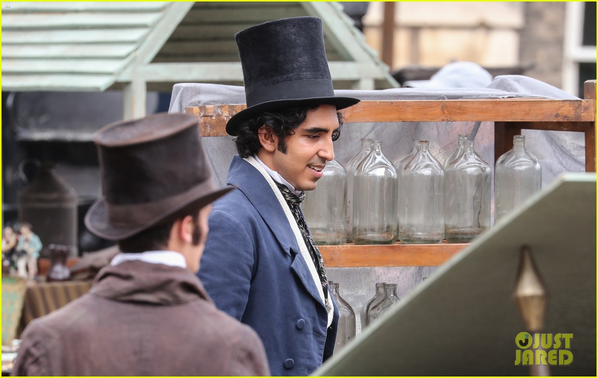 dev patel david copperfield filming set 13