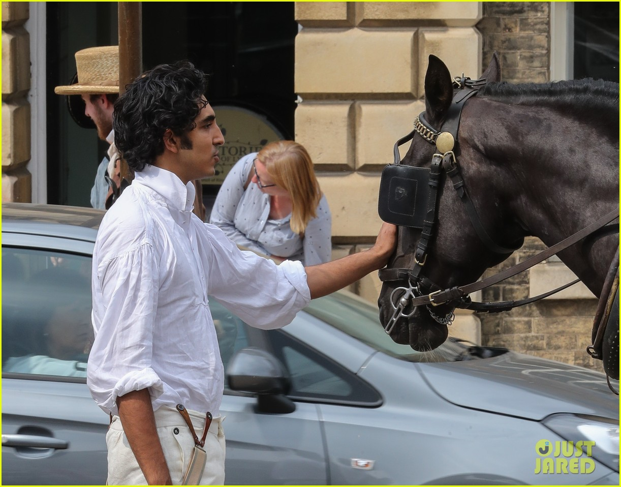 dev patel david copperfield filming set 16
