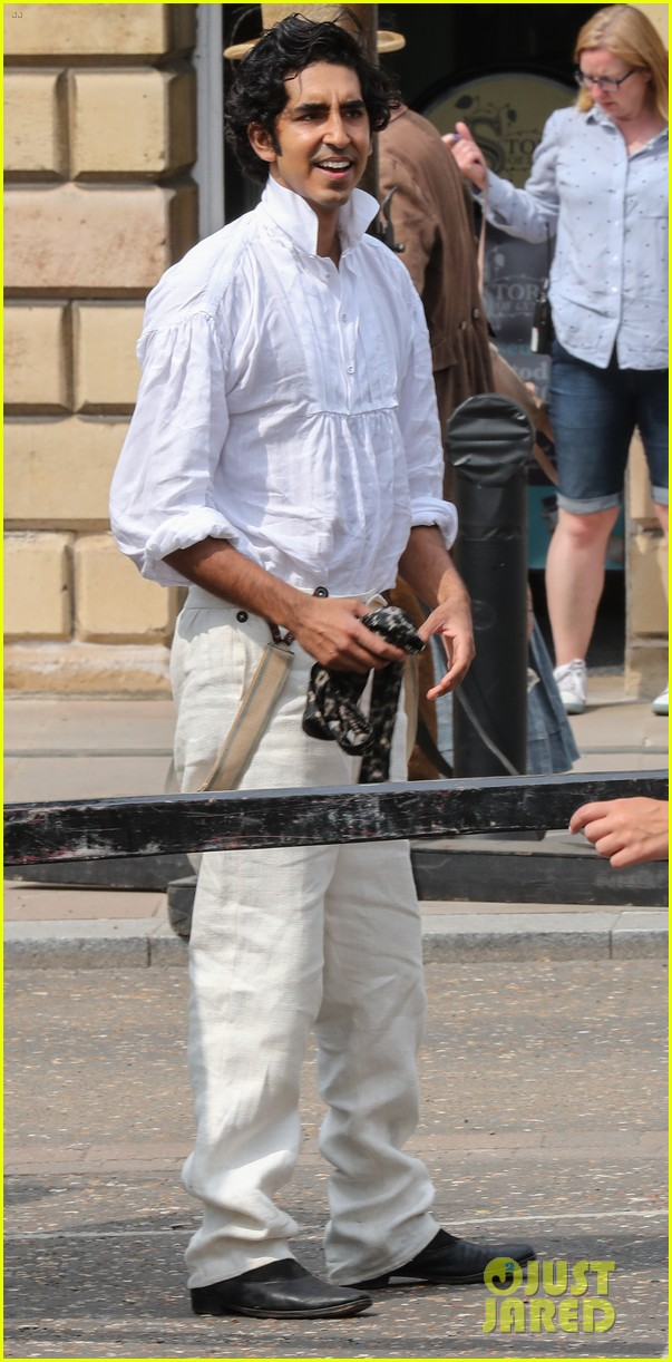 dev patel david copperfield filming set 17