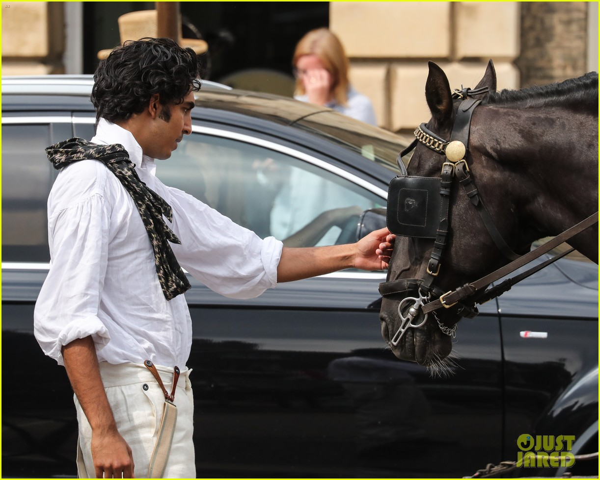 dev patel david copperfield filming set 18