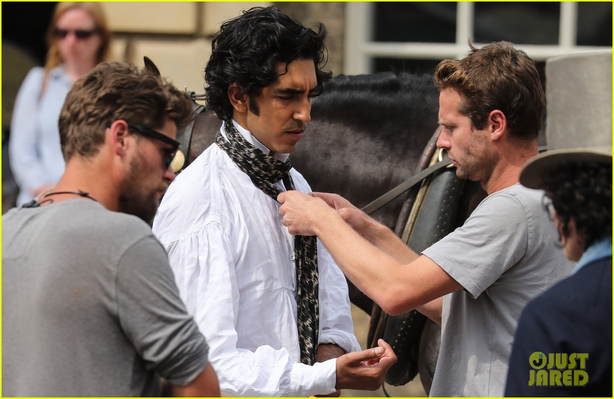 dev patel david copperfield filming set 21