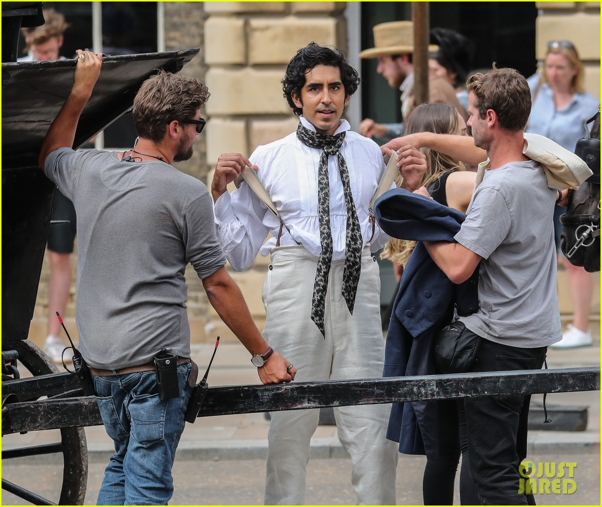 dev patel david copperfield filming set 22