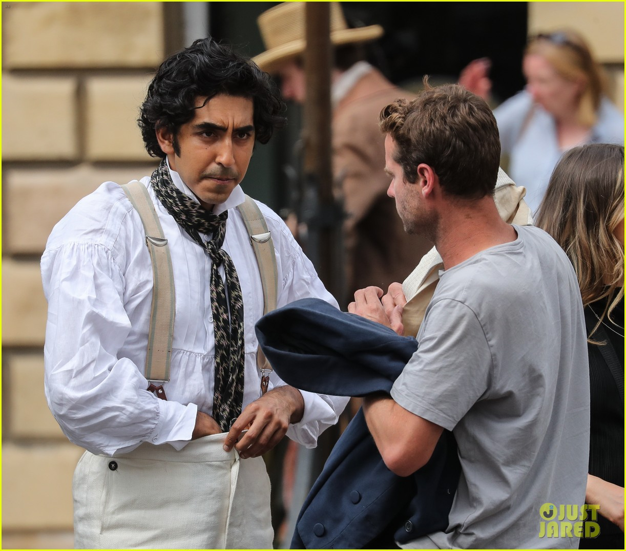 dev patel david copperfield filming set 23
